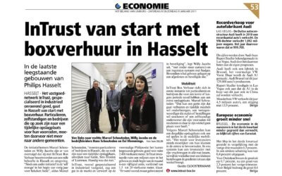 INTRUST VAN START IN HASSELT…